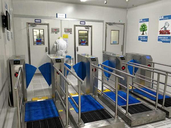 Success Story - Sole Cleaning Machine &ESD access control system for Biopharmaceutical Factory